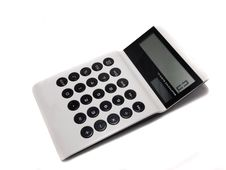 Free White Calculator Royalty Free Stock Photo - 16951065