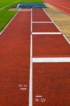 Free Athletics Track Lane Stock Photography - 16951222
