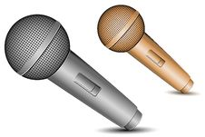 Free Mic Icons Stock Photos - 16951303