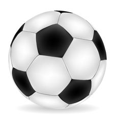 Free Football Isolated Over White Stock Photo - 16951660