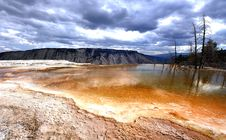Free Mammoth Hot Springs Stock Photo - 16952410