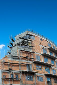 Free Residential Building Construction Site Royalty Free Stock Image - 16952466