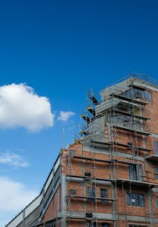 Free Residential Building Construction Site Royalty Free Stock Photo - 16952535