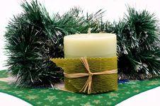 Free Christmas Candle Stock Photo - 16952540