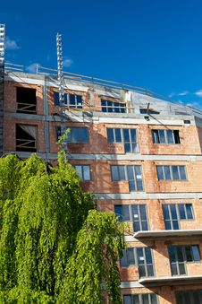 Free Residential Building Construction Site Royalty Free Stock Photos - 16952768
