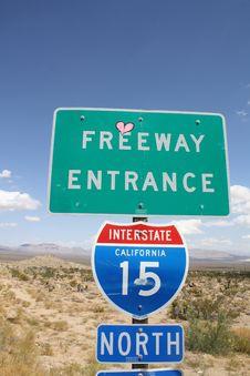 Free California Desert Royalty Free Stock Photo - 16952885