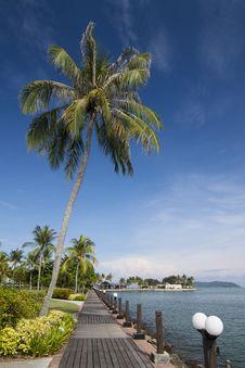 Free Tropical Resort Seaview Stock Photos - 16952893