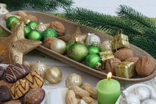 Free Christmas Table Stock Photography - 16952962