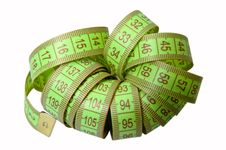 Free Tailor S Meter Royalty Free Stock Photo - 16953125