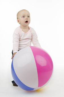Free Child With Ball Stock Images - 16953354