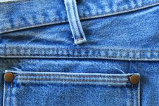 Free Jeans Stock Photography - 16953842