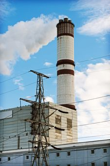 Free Power Plant Royalty Free Stock Photo - 16954065