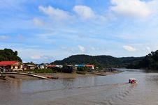 Free Village In Asia Near The River Stock Image - 16954291