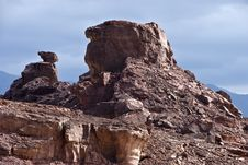 Free Geological Formations At Timna Park, Israel Royalty Free Stock Photo - 16954325