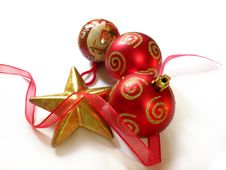 Free Christmas Decoration Royalty Free Stock Photo - 16954895