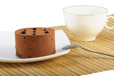 Free Fancy Cake And Tea Stock Images - 16955074