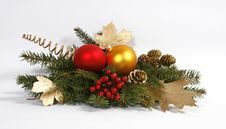 Free Christmas Decoration Royalty Free Stock Image - 16955086