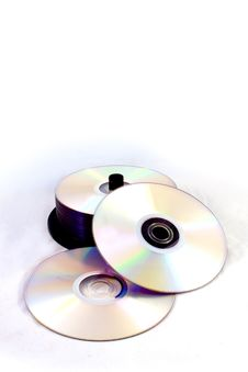 Free Compact Disc Royalty Free Stock Photos - 16955218