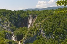 Free Plitvice Lakes National Park Royalty Free Stock Photography - 16955437