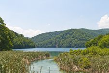 Free Boating In Plitvice Lakes National Park Stock Image - 16955591