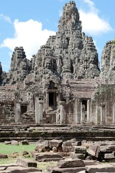 Free Angkor The Bayon Royalty Free Stock Photos - 16955598