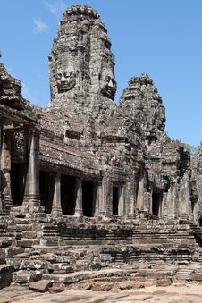 Free Angkor The Bayon Stock Photos - 16955613