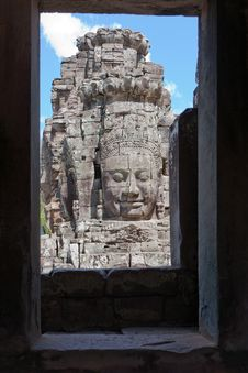 Free Angkor The Bayon Stock Photo - 16955620
