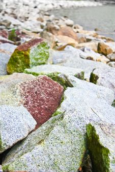 Free Rocks By The Riverbed Stock Photos - 16955863