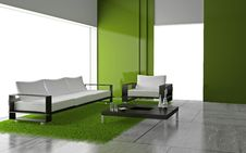 Free Sofa In The Room Royalty Free Stock Photos - 16955908