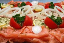 Free Fish Platter Royalty Free Stock Photo - 16955985