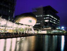 Free Hong Kong Science Park At Night Royalty Free Stock Image - 16956036