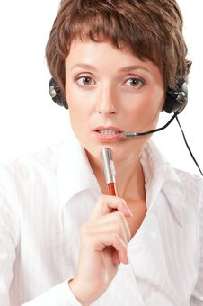 Free Support Phone Operator Royalty Free Stock Photo - 16956345