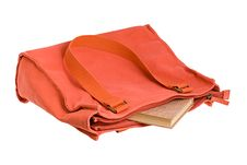 The Book Is In The Bag Royalty Free Stock Images