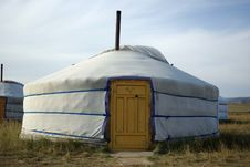 Free Yurt In Mongolia Stock Images - 16956584
