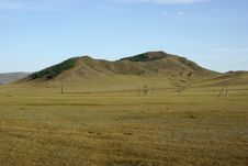 Free Mongolian Steppe Royalty Free Stock Photography - 16956677