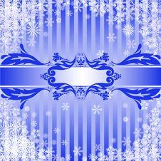 Free Blue Christmas Background Royalty Free Stock Photos - 16956818