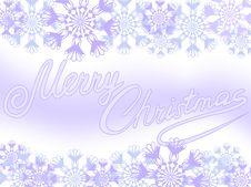 Purple Snowflakes Stock Photos