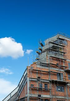 Free Residential Building Construction Site Royalty Free Stock Photo - 16957025