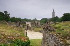 Free Saintes, Entering The Amphitheater Stock Image - 16957571