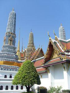 Wat Pra Kaew Stock Images