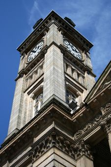 Free Council House Clock Tower, Birmingham Stock Image - 16958751