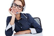 Free Customer Representative Stock Photography - 16959192