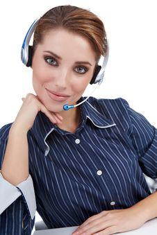 Free Customer Representative Stock Photos - 16959223