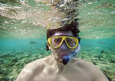 Free Man With A Goggles Royalty Free Stock Photos - 16959428
