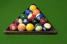 Free Pool Balls Stock Photography - 16959512