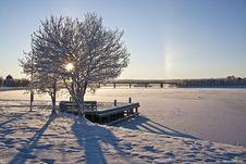 Free Beautiful Winter Landscape Stock Images - 16959674