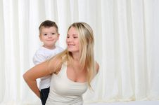 Free Young Mother And Son Stock Images - 16959834
