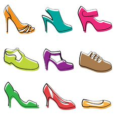 Free Fashion Shoes Design Royalty Free Stock Images - 16959949