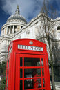 Free Saint Pauls Cathedral And Phone Stock Photo - 16965930