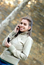 Free Girl Talking On A Cell Phone Stock Images - 16968354